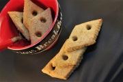 Biscotti integrali allo zafferano