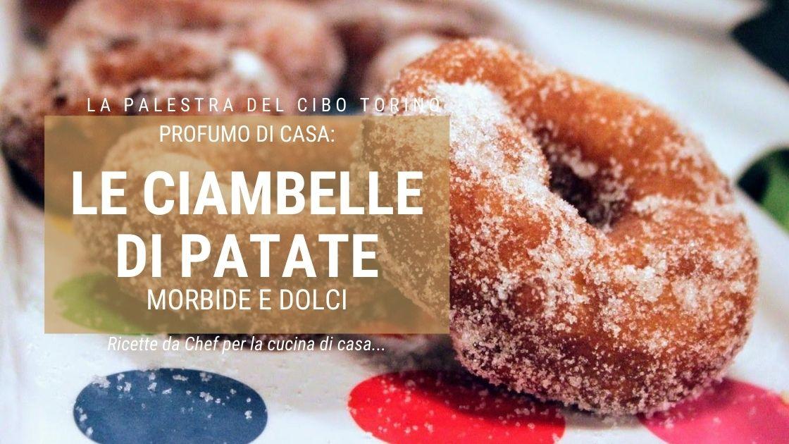 ricetta ciambelle patate