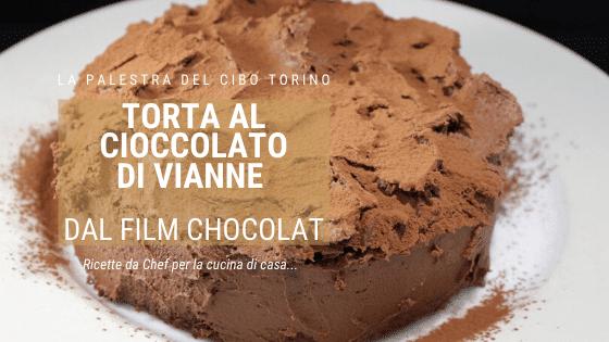 Vianne torta al cioccolato con ganache al cioccolato fondente