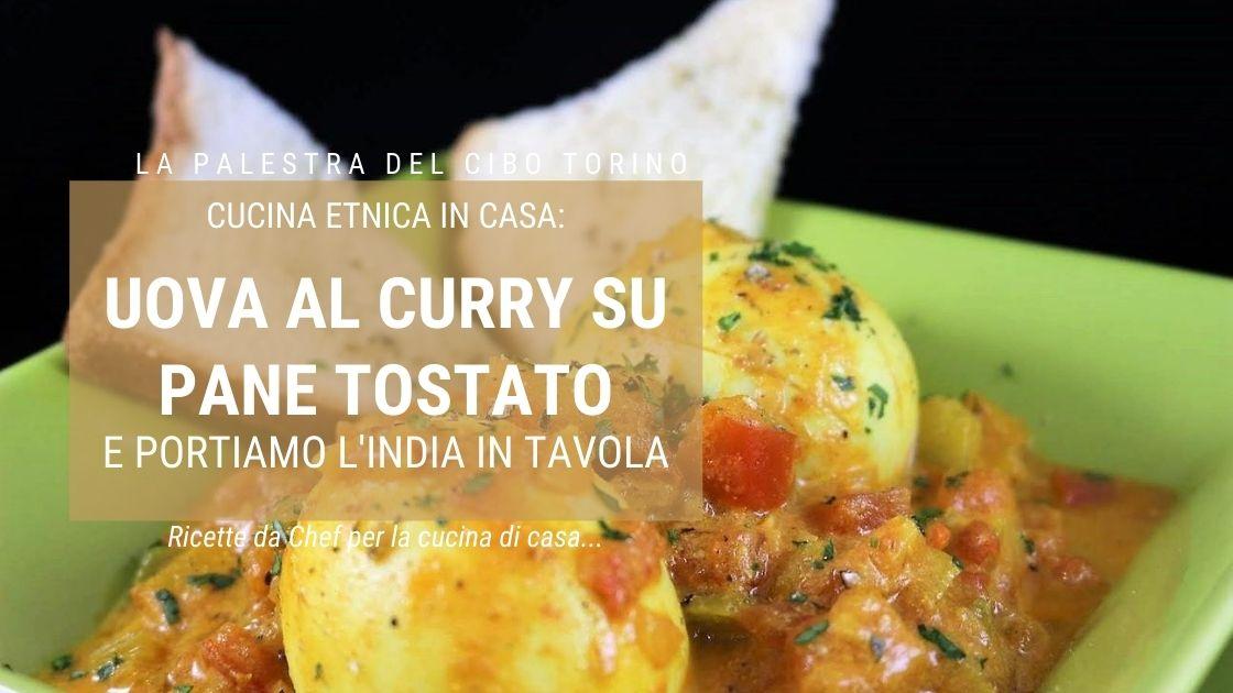 ricetta uova al curry