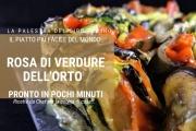 ricetta rosa di verdure dell'orto
