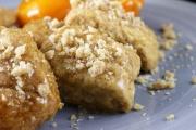 Melomakarona biscotti allo sciroppo