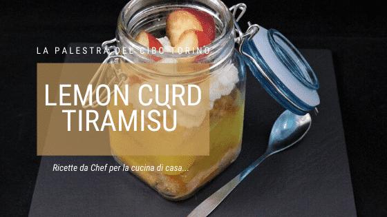 Lemon curd tiramisù