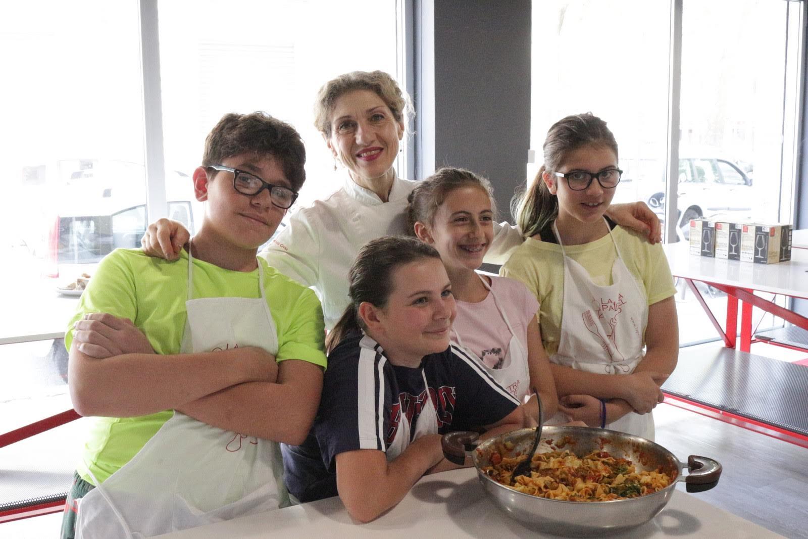 corsi di cucina per ragazzi