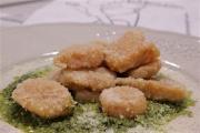 Gnocchi di zucca con salsa di cavolo nero e Taleggio